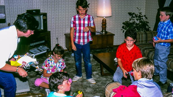 9th Birthday Party for Andrew and Michael - 1986