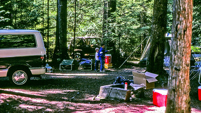 Camping trip to Mt. Baker, July 1988