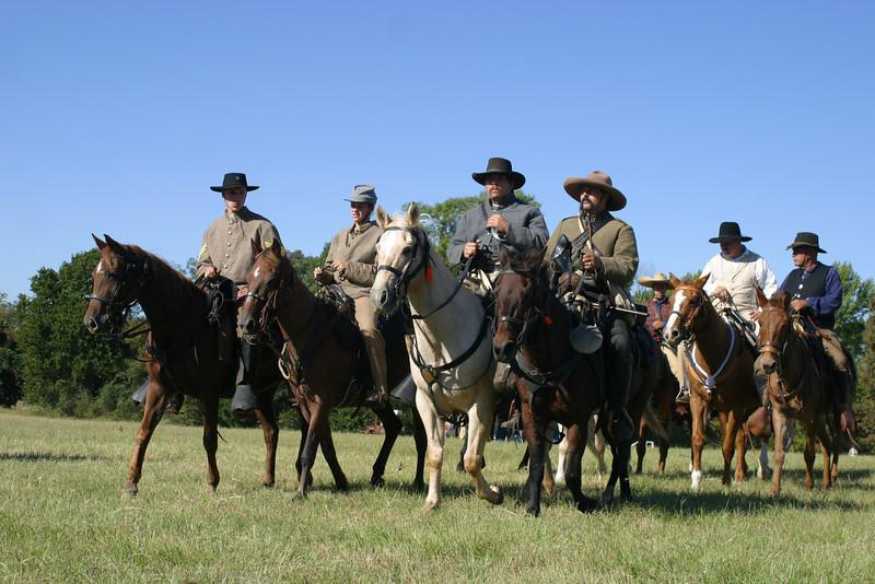 Horsemen Coming 4099