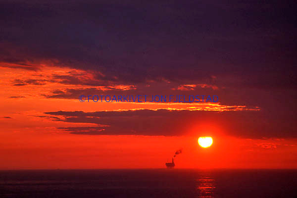Solnedgang ved Murchinson