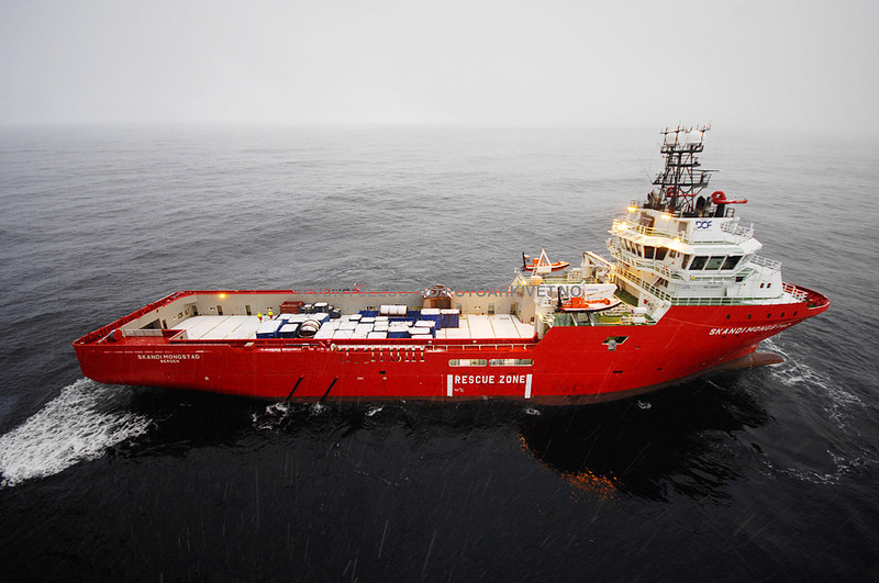 SKANDI MONGSTAD - PLATFORM SUPPLY VESSEL