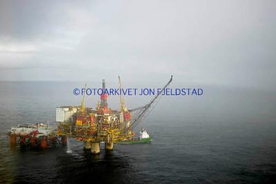 Statfjord A og Safe Scandinavia.