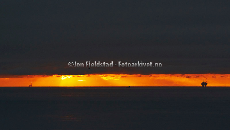 TISTLE PLATTFORM - ENGELSK SEKTOR I NORDSJØEN OG STATFJORD C - STATFJORDFELTET