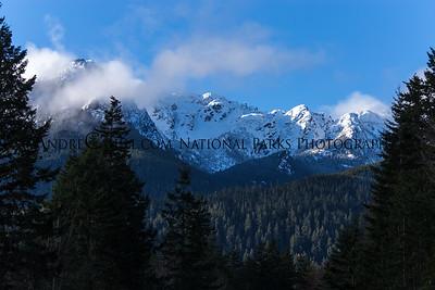 Hurricane Ridge Mountains