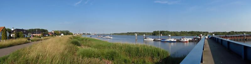 Steendorp - Schelde - Panorama (3 photos)
