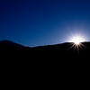 Sunrise silhoutte