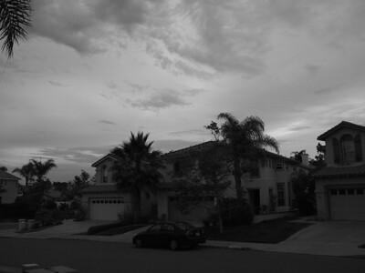 Trying out the Monotone mode.