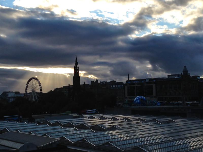 Edinburgh Silouette