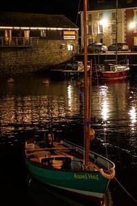 Aberaeron by night