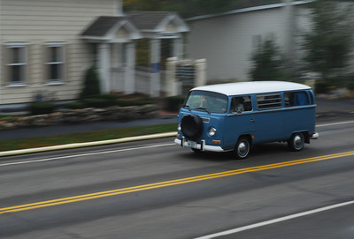 Week 4: Pan this Bus Lesson: Panning shutter speed.