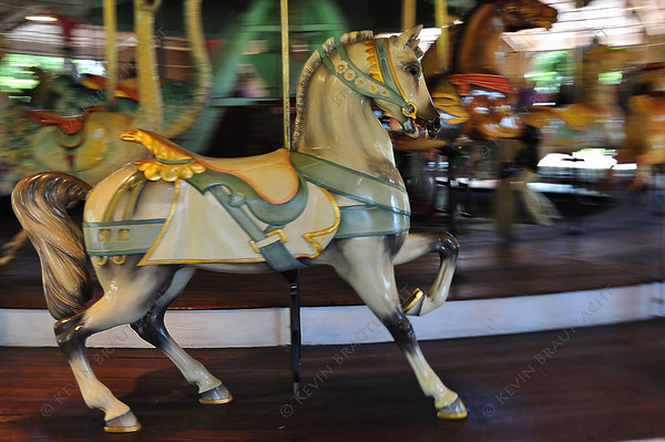 The Duchess, an original 1905 Dentzel carousel.