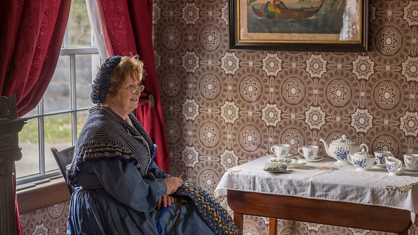 Tea Time at the Doctor's Home