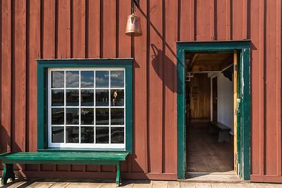 Tin Shop Entrance