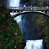 Multnomah Falls in Columbia River Gorge in Oregon 3