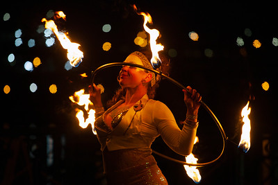 Flamebuoyant Productions at the Portland Winter Light Festival