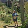 Dave capured by Saguaro Cactus
