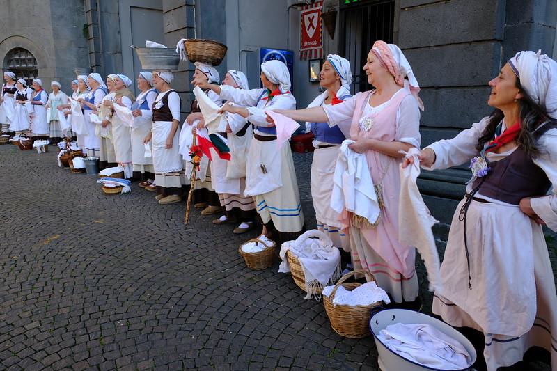 The Singing Washerwomen of Bolsena, Orvieto