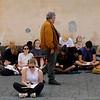 Drawing Class, Piazza del Duomo, Orvieto