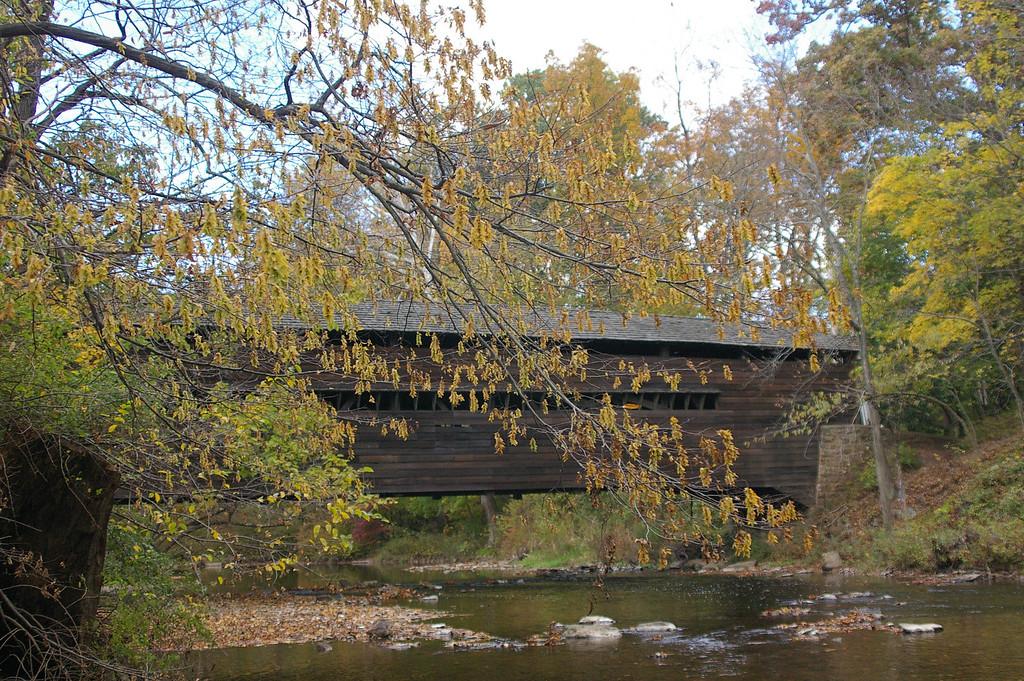 Fall Foliage, Covered bridge