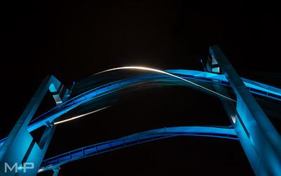 Gliding at Night
