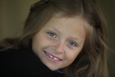 My brother Eric's picture of Zoe, June 2012