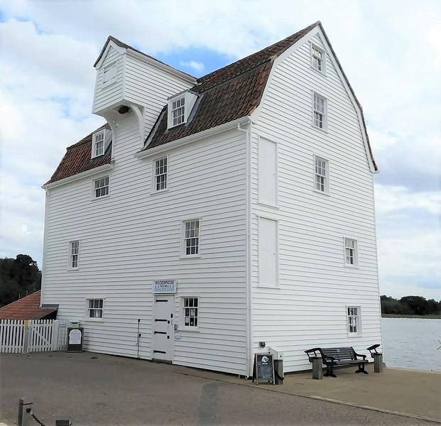 Woodbridge Tide Mill Museum.  23rd August 2020.