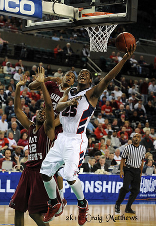 Duquesne vs St. Joseph's in the Atlantic 10 Tournament