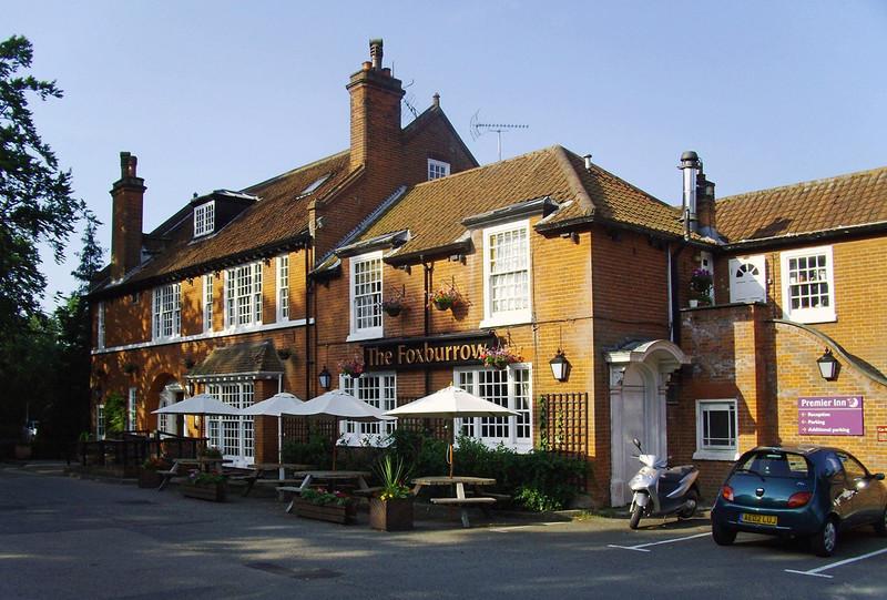 Lowestoft. Foxburrow Pub. Yarmouth Road.