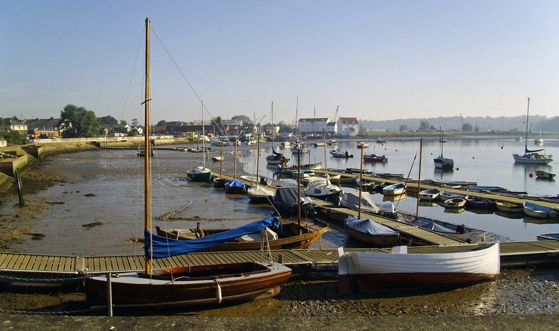 River Deben at Woodbridge Quay.  9th September 2012