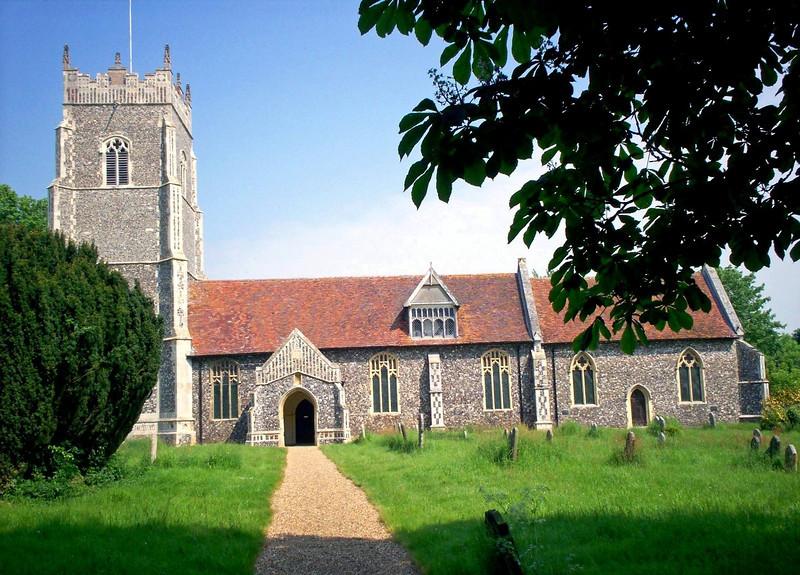 Helmingham Church, Suffolk.  17th May 2008