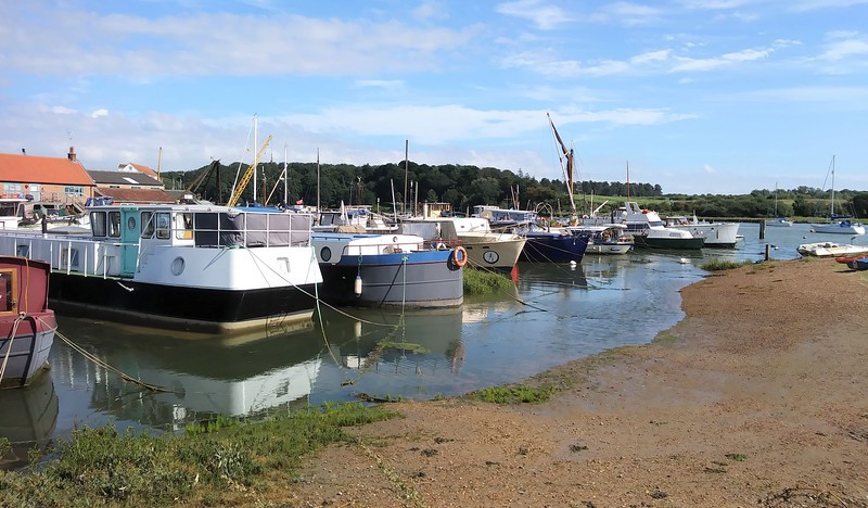 Woodbridge Quay  20th August 2020.
