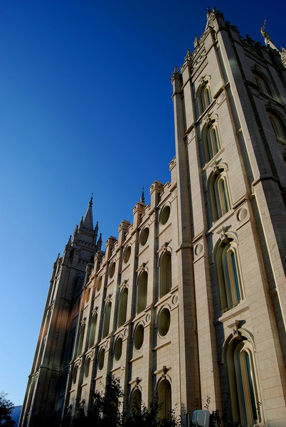 Mormon Temple; Salt Lake City, Utah