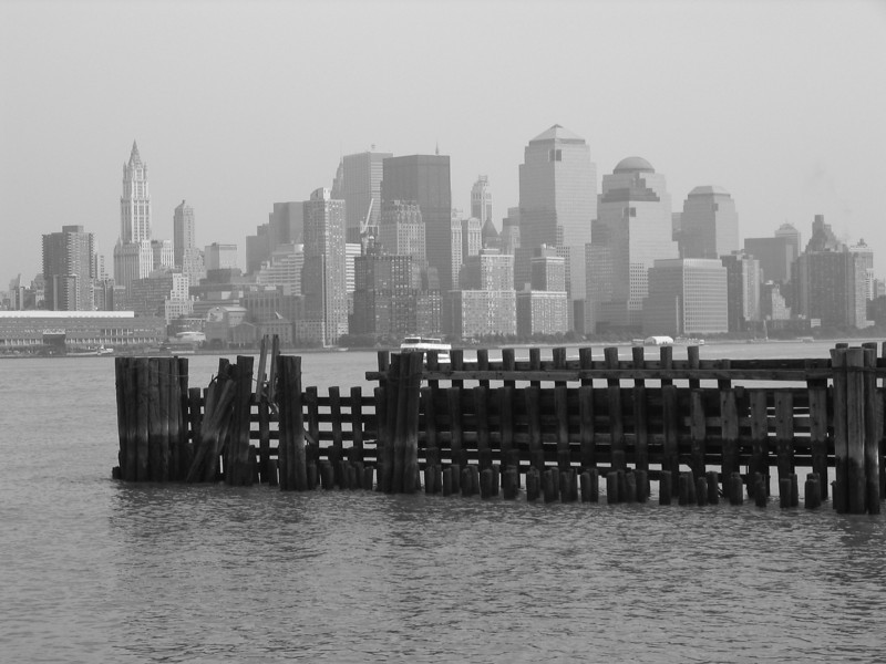 New York, New York (from across the Hudson River)