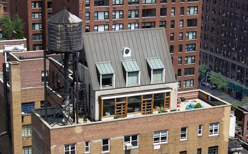 Rooftop house, 78th & Amsterdam, Manhattan, NY