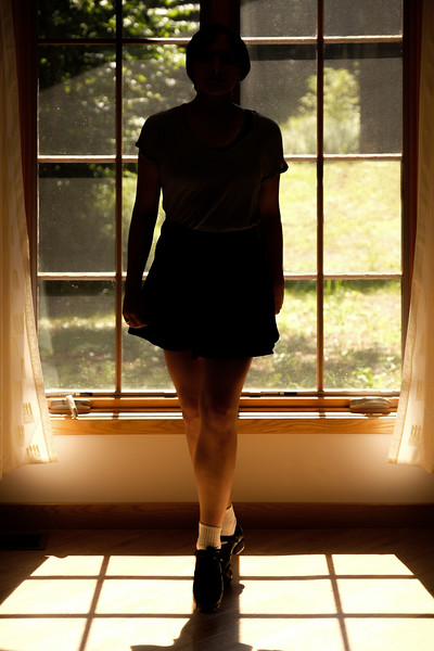 IRISH DANCER IN SILHOUETTE
