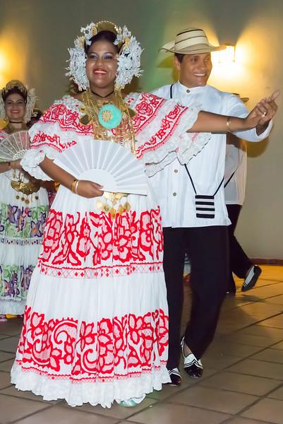 Native Panamanian Dancers