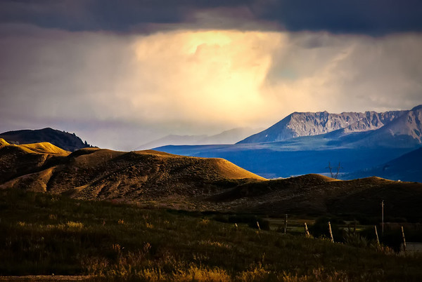 Rain & Sun on a Colorado Landscape