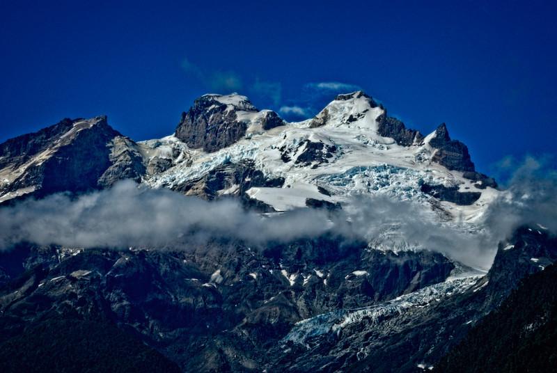 Glaciers on Monte Tronador