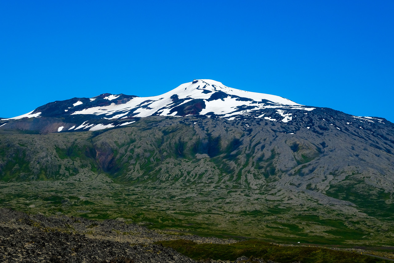 THE SNAEFELLSJOKULL GLACIER
