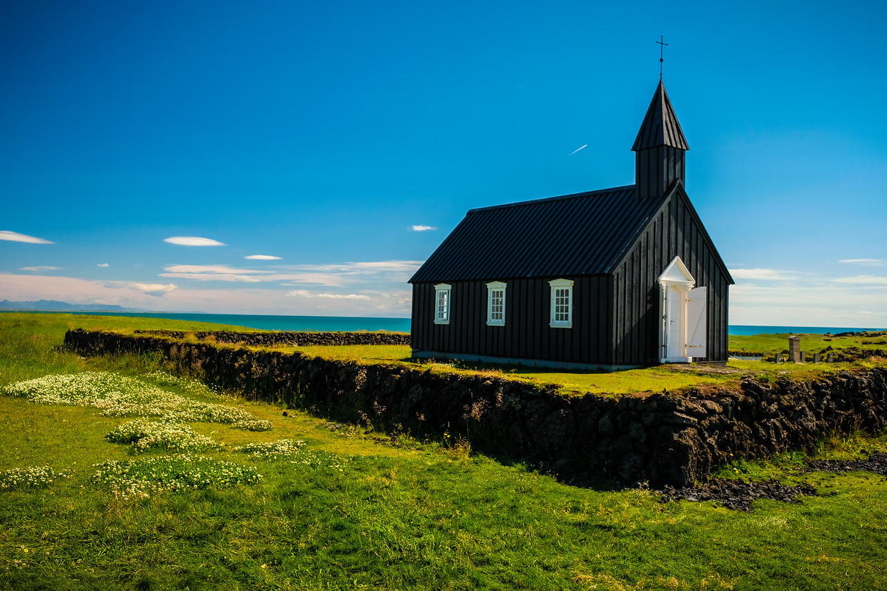 BLACK CHURCH AT BUDIR