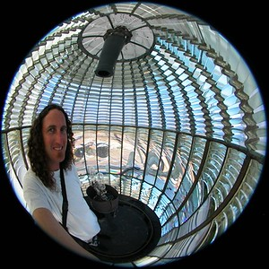 Fish Eye self Fresnel Lens Pigoen Point
