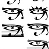 Day 88<br /> <br /> <br /> Eyes of Horus .. (Horii ?) <br /> <br /> I don't know .. did this for someone that wants to start his optometry practice .. the first one is the original.<br /> <br /> I like the symbol .. in its organic form it has .. something ..