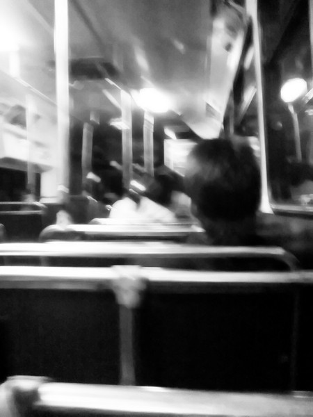Day 77 <br /> <br /> Back from Chatswood - Yeah I know this is a mondo crappy photo but somehow, well that's what it was like - a crappy ride in a jumpy bus so well. <br /> <br /> On the upside, well I was in chatswood, and the bus wasn't too crowded (though it got busier towards the end). <br /> <br /> Forgot to buy new shoes though .. was a bit rushed.