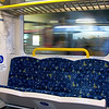 Day 22<br /> <br /> I sit here - as they pull station after station past me. <br /> <br /> Nice clean train on the way back from Parramatta today. Man the Westfields is huge there! I think I couldn't have walked through it completely in one lunch time today. <br /> Going back tomorrow, perhaps I'll take a photo of the madness that is a shopping mall during school holidays =).