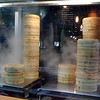 "Day 96<br /> <br /> Dinner at Din Tai Fung - a large chain of dumpling restaurants. (by large I mean like ~30 places across around nine countries large). Not bad food - a little expensive but not bad.<br /> <br /> Those ""hotplates"" are covers with 4 steam holes in them (about 1-2cm diameter) - nifty!<br /> <br /> BTW: just checked the geocoding feature on SM - nearly there but not quiet - probably had to rely on cell phone tower triangulation so it's accurate to about 20m or so."