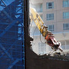Day 12<br /> <br /> Chatswood is in full destruction mode - they are tearing downstructures on quite an area. This guy was on top of a building it was destructing .. I wonder how weird (and disturbing that must feel). <br /> <br /> It was shot on the TX1 @ full zoom .. I love how this little P&S has 10x optical zoom =).