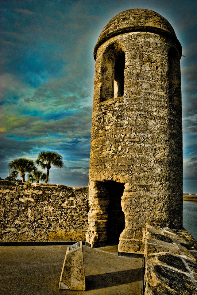 Watch Tower Castillo de San Marcos