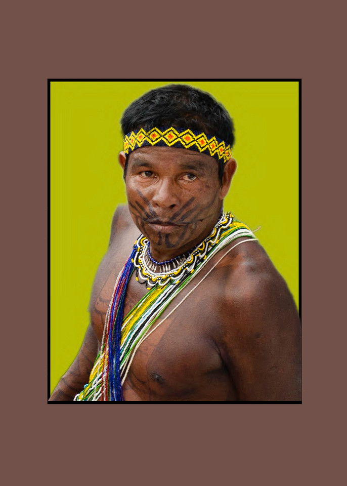 The Embera Man