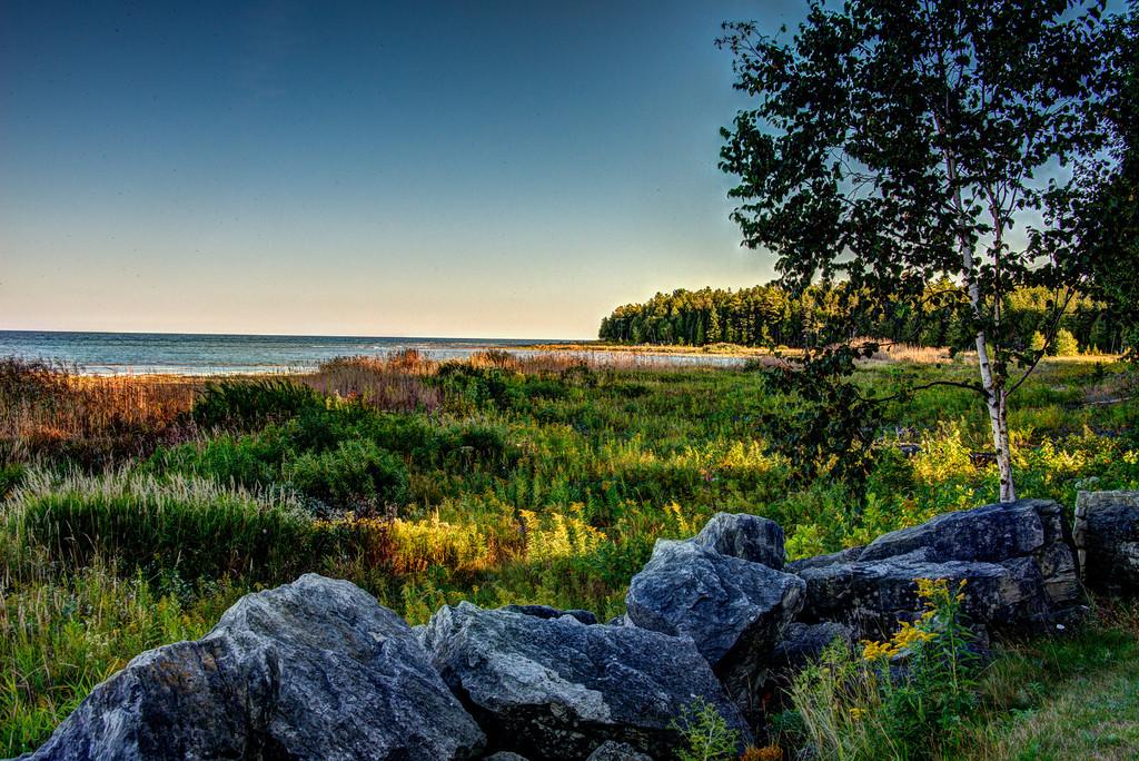 Lake Michigan Fall Shoreline
