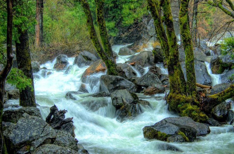 Rapids Base Bridalveil Falls
